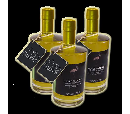Cuvée Picholine - 3 bouteilles de 500ml