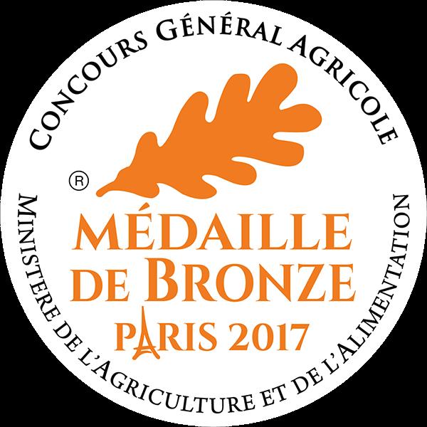 Médaille Bronze 2017