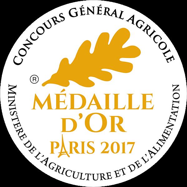 Médaille Or 2017