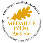 Médaille d'Or CGA Paris 2017